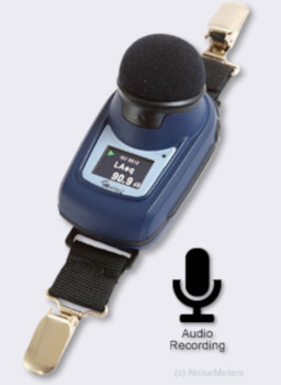 dbadge2 Plus Noise Dosimeter with Audio Recording
