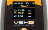 vibration meter display