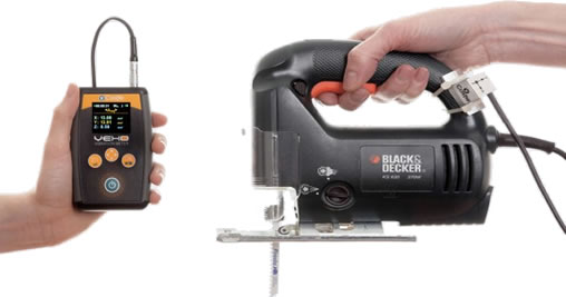 power tool vibration measurement